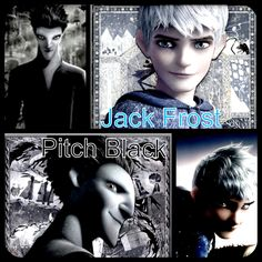 rise of the guardians jack frost vs. pitch black