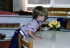 A child cleaning at the end of the individual work time in my Montessori school. by Deb Chitwood, via Flickr