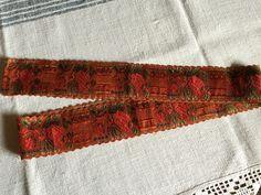 Schwalm Schwälmer Tracht Seidenband Hessen Folk Costume Silk Ribbon 178 CM 4 | eBay