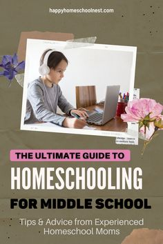 Looking for help to homeschool middle school? Learning Online Homeschool Curriculum is the perfect first homeschool curriculum because of its ease of use. We shared tips & advice from Experienced Homeschool Moms. Homeschooling Resources, Homeschool Curriculum, Middle School, Advice, Mom, Learning, Children, Tips, Books