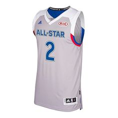 938eb827431347 Men s Eastern Conference Kyrie Irving adidas Gray 2017 NBA All-Star Game  Swingman Jersey
