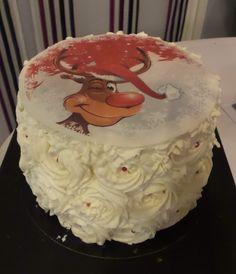 """Mes créations pâtissières: """"Rose cake"""" de Noël"""