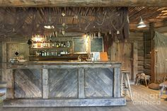 New bar design for three horse shoes bar on my list