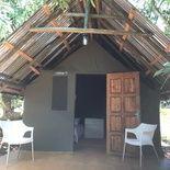 Tent-houses on the Africa Silks Farm