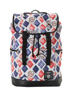 DC Comics Suicide Squad Harley Quinn Large Slouch Backpack | Hot Topic