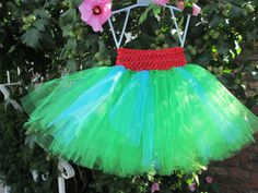 (7) PARTY OUTFIT! Very Hungry Caterpillar Inspired Tutu by GrandmaNelsonsShoppe, $29.99  #WorldEricCarle #HungryCaterpillar