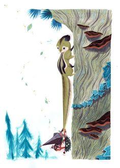 tiny squirrel tattoo | Visit ohno-doom.myshopify.com