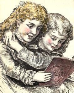 compartiendo lectura (Autor desconocido)