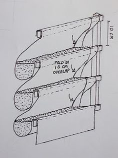 DIY plans for a Living Wall...Figure I can modify this for a vegetable garden!