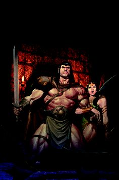 Conan and the People of the Black Circle #2   Fred Van Lente(W), Ariel Olivetti(A/C/Cover)   On sale Nov 27  FC, 32 pages  $3.50  Ongoing   Conan is on the run with his captive, Queen Yasmina—but his desperate bid to seek refuge in the Himelian Mountains leads him into an ambush! Meanwhile, murderous magic is afoot as the wicked sorcerer Khemsa plots against the unsuspecting Cimmerian!