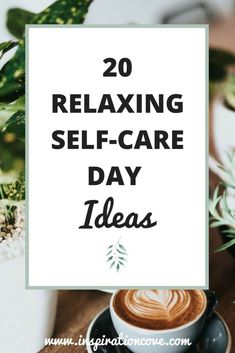 Self-Care Days are essential to stay sane in the hustle and bustle of our daily lives. Get ready to relax and unwind on your mental health day with these 20 relaxing and soothing self-care day ideas #selfcare