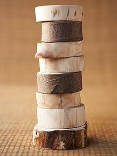 Wooden napkin holders