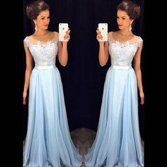 Lace Prom Dresses, Blue Prom Dresses Long Prom Dresses, Lace Evening Dresses from belle-costume. Saved to prom dresses. Modest Prom Gowns, Prom Dresses 2016, A Line Prom Dresses, Ball Dresses, Dress Prom, Dress Formal, Dress Lace, Dresses Dresses, Formal Prom