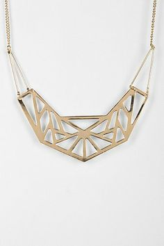 Geometry Shield Necklace