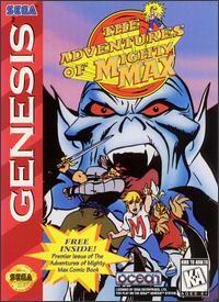 the adventures of mighty max, sega genesis game