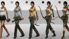 Tomb Raider, concept art артбук концепт артов
