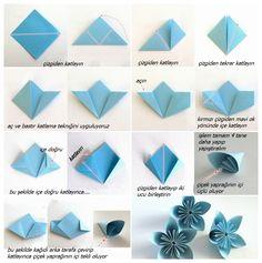 origami çiçek yapımı - Google'da Ara