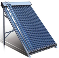 Duda Solar 30 Tube Water Heater Collector Frame Evacuated Vacuum Tubes SRCC Certified Hot - Great price appears to be well built.This Duda Solar that is ra Solar Energy Panels, Solar Panels For Home, Best Solar Panels, Solar Water Heater, Water Heating, Water Cooling, Solar Collector, Solar Roof Tiles, Solar Projects