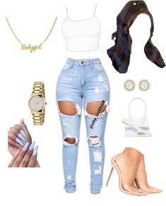 Baddie Outfits Casual, Swag Outfits For Girls, Teen Girl Outfits, Cute Swag Outfits, Dope Outfits, Teen Fashion Outfits, Classy Outfits, Pretty Outfits, Swagg
