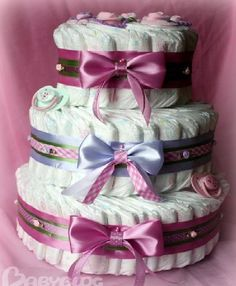DIY Diaper Cake Gift