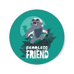 Lion Guard | Fearless Friend Bunga Classic Round Sticker