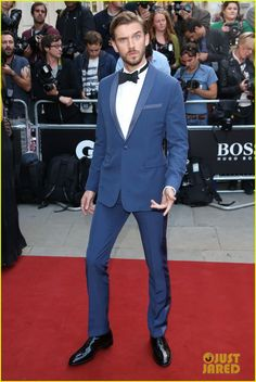 Dan Stevens in Dior Homme - 2014 GQ Men of the Year Awards held at The Royal Opera House
