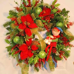 Christmas Wreath- Etsy