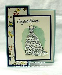 Wedding or Bridal Shower Card by Natasha Zandbergen - Cards and Paper Crafts at Splitcoaststampers
