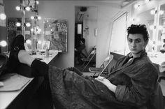 Sean Penn in dressing room