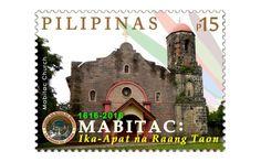 COLLECTORZPEDIA Mabitac Church - Ika-Apat na Raang Taon Philippines, Stamps, Seals, Postage Stamps, Stamp