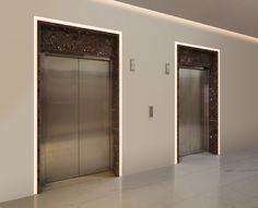 Illuminate door frames with Verge Door Frame - by Pure Lighting