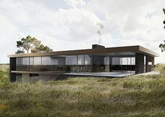 BAKS ARKITEKTER -  Wave House, Denmark. Nordic architecture, house, design, scandinavian, texture, brick, wood, minimalistic, danish, nature, living, facade