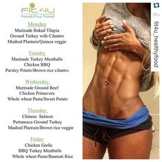 #Repost @fit4u_healthyfood  Our Athlete @vanessa_mmm is 5 weeks out from Arnold Classic she still doing our meal prep and she is looking amazing let's kick some abs you are the Champion   NEW MENU!!  Don't forget to make your orders by today in order to start next week stress free and ready to start seeing results! - Without healthy eating habits results will be hard to achieve and @fit4u_healthyfood makes it easy.  - Check out www.Fit4uhealthy.com to order or contact Miguel at 786.712.2821…