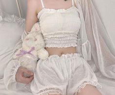Cute Girl Poses, Cute Girls, Cool Girl, Cute Pajama Sets, Cute Pajamas, Ulzzang Fashion, Korean Fashion, Stylish Outfits, Cute Outfits