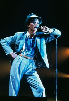 Bowie - Serious Moonlight tour - 1983