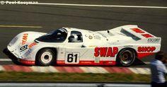 RSC Photo Gallery - Le Mans 24 Hours 1984 - Porsche 962 no.61 - Racing Sports Cars