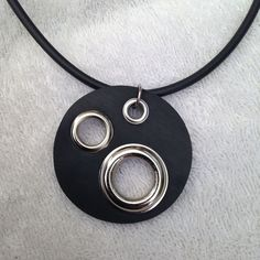 Great jewelry pertains to any jewelry made from valuable metals like gold and jewels like diamonds. These are the sort of pieces you'll typically discover in high-end fashion jewelry stores in outlet store and mall. Leather Necklace, Diy Necklace, Leather Jewelry, Necklaces, Polymer Clay Pendant, Polymer Clay Jewelry, Famous Jewelry Designers, Designer Jewelry, Jewelry Crafts