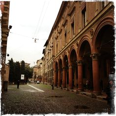 walking around Bologna