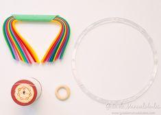 Móvil colorido con estrellas de origami - Guía de MANUALIDADES Washer Necklace, Jewelry, Origami Stars, Jewellery Making, Jewelery, Jewlery, Jewels, Jewerly, Fine Jewelry