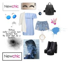 """""""#newchic"""" by alexandraanton ❤ liked on Polyvore featuring Casetify, River Island, Vera Wang, chic, New and newchic"""