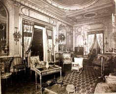 The Petit Salon inside the Cornelius Vanderbilt II Mansion, new York City
