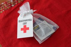 Hangover Kit Bags by IzzyBopDesigns on Etsy, $6.50
