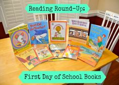 10 great books for the First Day of School!