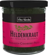 Bärlauch Cranberry Pesto - Heldenkraut - Brotaufstrich - Rohkostqualität
