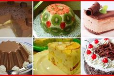 Selection of desserts without baking in a hurry - Apetitno. Pudding, Desserts, Food, Sweets, Banana, Tailgate Desserts, Deserts, Custard Pudding, Essen