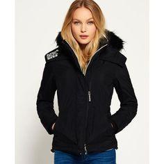 6c3522d59daa Veste à capuche avec fourrure Sherpa Wind Attacker SUPERDRY. Manteau  Doudoune FemmeBlouson ...