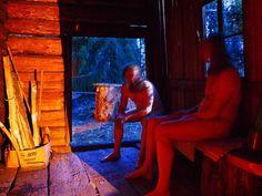 Saksalainen etsii saunassa syntyneitä suomalaisia