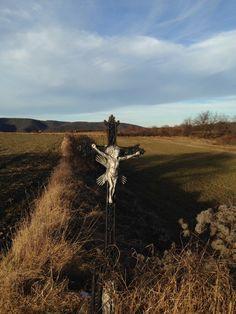 Kreuz im Feld bei Unterbergern Felder, Crosses