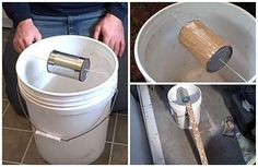 5 Gallon, Self-Resetting Mouse Trap - The bucket mouse trap catches many mice in a single trap and does not need to be reset between mice. It's also so simple to make that you probably already have most the parts parts needed lying around your home.