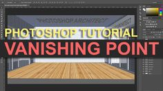 Photoshop Tutorial | Vanishing Point Filter